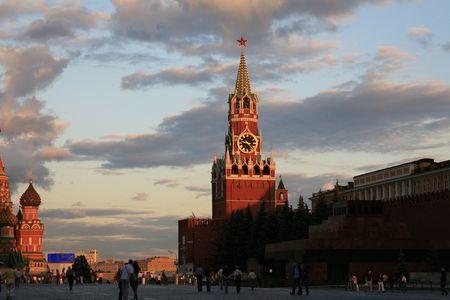 kremlin at evening Stock Photo - 1353008