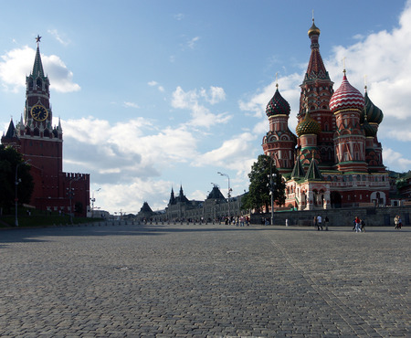 red square city center Stock Photo - 1518114