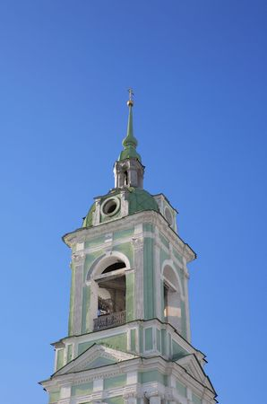 bell tower in city center on sky background Stock Photo - 2340002