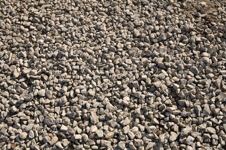 aggregates: gravel for background, dayli time, pile of stone