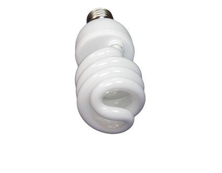 luminous tube lamp on white background, isolated Stock Photo - 3147946