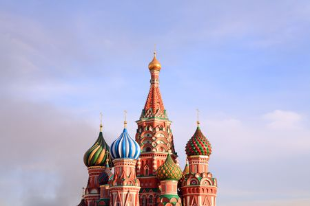 blessed Basil cathedral in moscow Stock Photo - 3257266