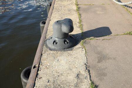 mooring facility on river
