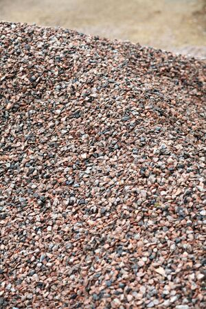 heap of gravel at dayli time Stock Photo - 3323176
