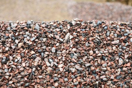 heap of gravel at dayli time Stock Photo - 3323177