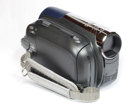 minidv video camera camcorder with strap photo