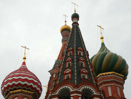 blessed Basil cathedral in moscow close up Stock Photo - 3744688