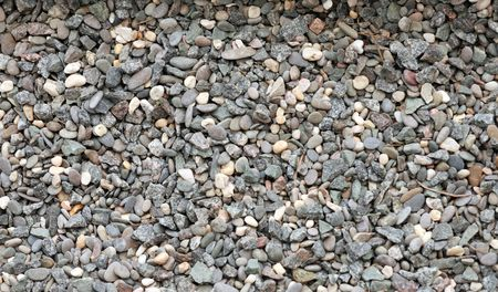gravel for background at day