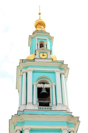 elohovskiy chapel bell tower in moscow photo