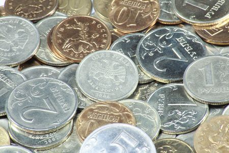 scattering of coins close up photo