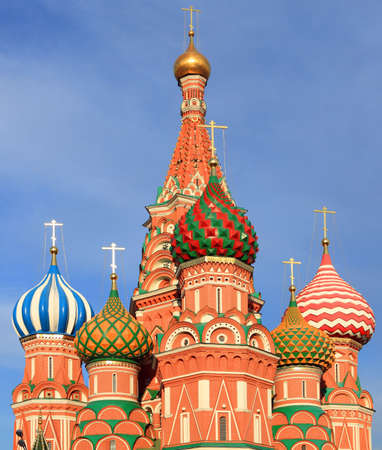 blessed Basil cathedral in moscow close up Stock Photo - 3888367