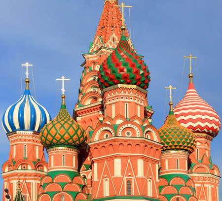 blessed Basil cathedral in moscow close up Stock Photo - 3892160