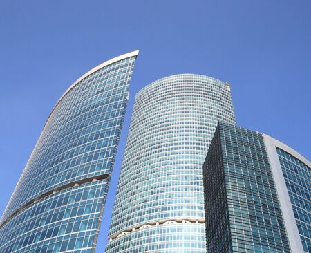 edge of office building on sky background Stock Photo - 4305284