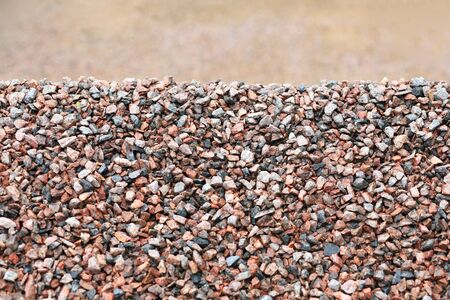 gravel for background, day time, pile of stone Stock Photo - 4649694