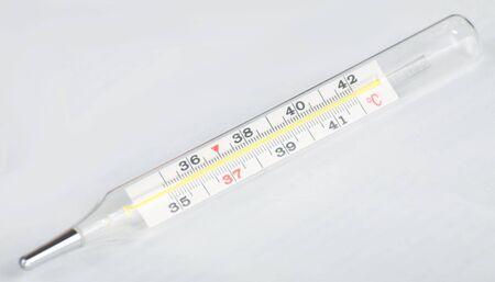 one temperature medical Celcius thermometer photo