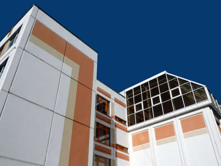 schoolhouse as art of building Vector