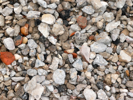 pebbles: gravel for background at day