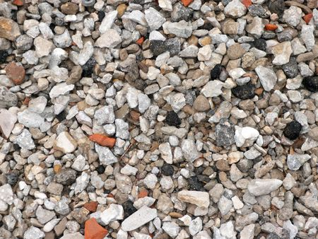 aggregates: gravel for background at day