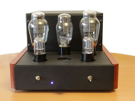 raiser: vacuum tube amplifier with 300B triodes