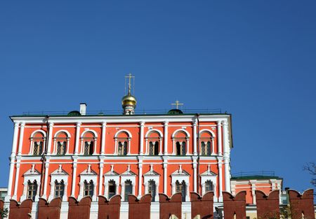 Kremlin building on sky background in city center Stock Photo - 5960085