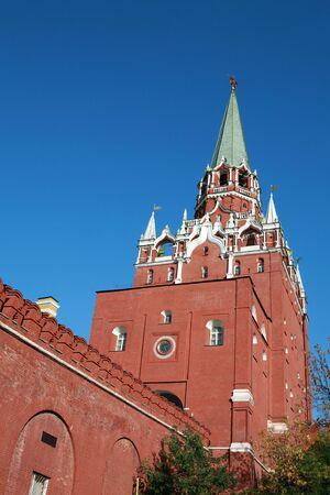 Kremlin tower on sky background in city center Stock Photo - 5960175