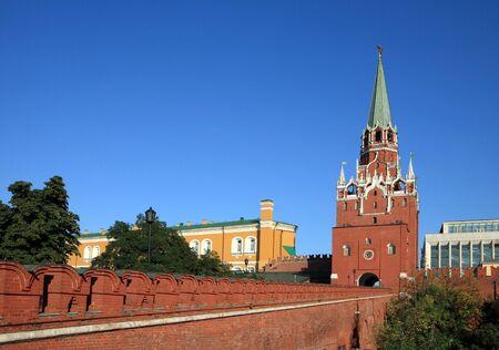 Kremlin tower on sky background in city center Stock Photo - 5973468