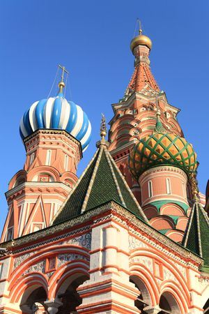 blessed  Basil cathedral at day on sky photo