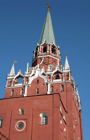 Kremlin tower on sky background in city center Stock Photo - 5999735