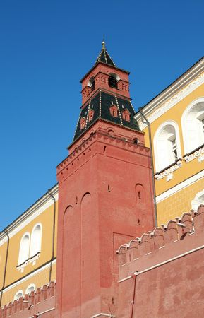 Kremlin tower on sky background in city center Stock Photo - 5999785