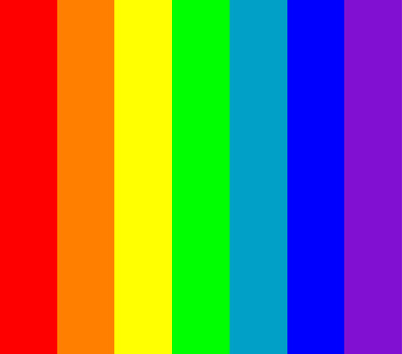 vertical bars: main seven rainbow colors  background Illustration