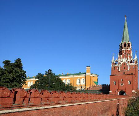 Kremlin tower on sky background in city center Stock Photo - 6011319