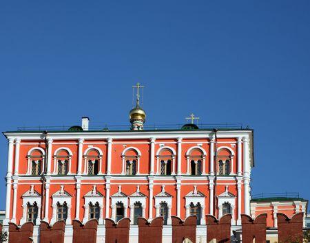 Kremlin building on sky background in city center Stock Photo - 6110569