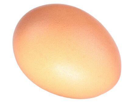 voids: hens egg on white background Stock Photo