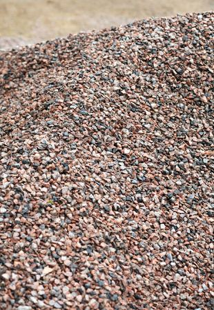 heap of gravel at dayli time Stock Photo - 6294883