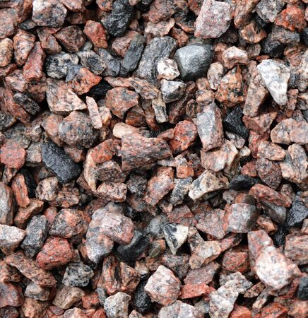 gravel for background, dayli time, pile of stone Stock Photo - 6716866