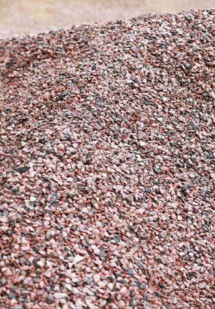 heap of gravel at dayli time Stock Photo - 7309107