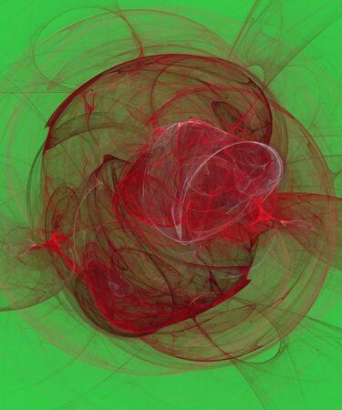 fractality: fractal on green