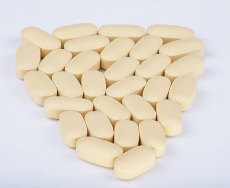 hiv therapy efavirenz on white background Stock Photo - 8203984