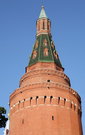 Kremlin tower on sky background at dry sunny day Stock Photo - 8204009