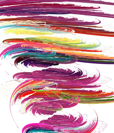 digital fractal vector Stock Vector - 8272986