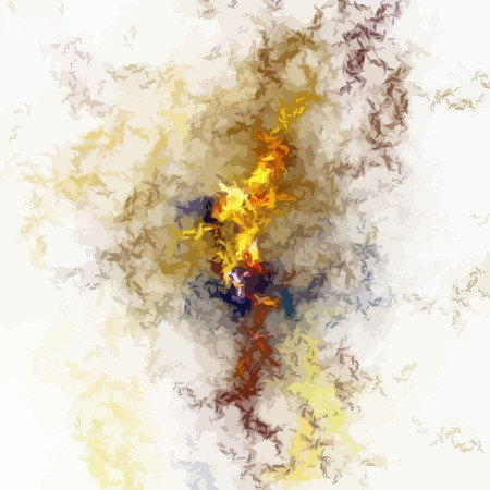 fine art painting: digital fractal