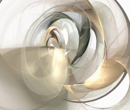 blue gradient: digital fractal