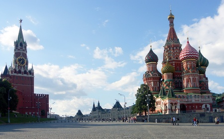 red square city center photo