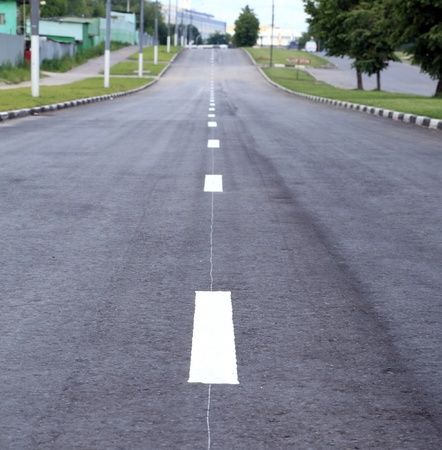 road on street at day time photo