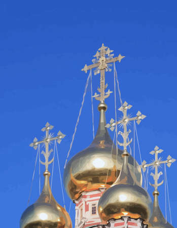 cupola of church Vector