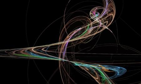 Vector Illustration of digital fractal Stock Vector - 10049046