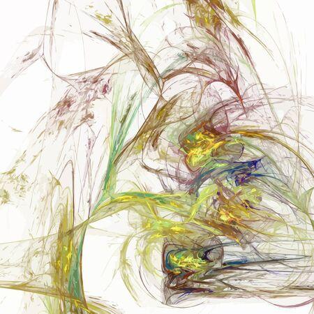 デジタル フラクタルのベクトル イラスト