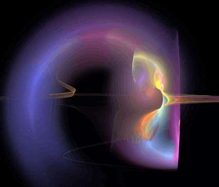 Vector Illustration of digital fractal Stock Vector - 10569547