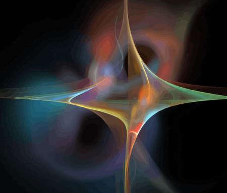 Vector Illustration of digital fractal Stock Vector - 10589535