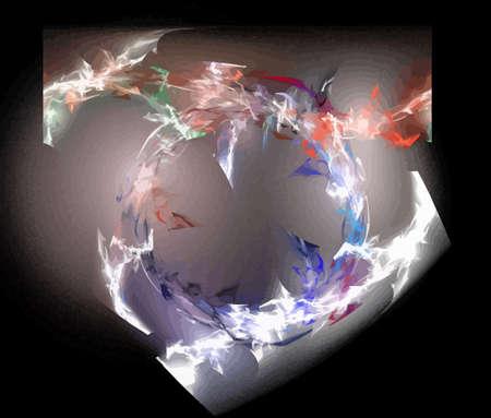 Vector Illustration of digital fractal Stock Vector - 10711168